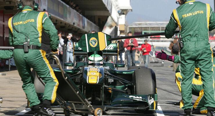 Lotus Boxenstopp 2011