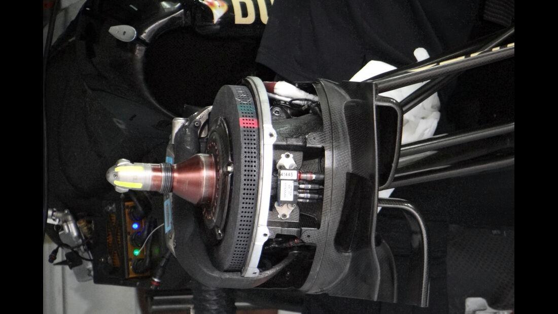 Lotus Bremsen - Formel 1 - GP Bahrain - 18. April 2013