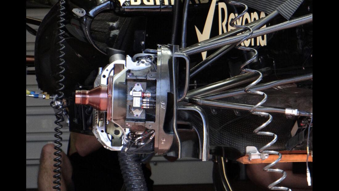 Lotus Bremsen - Formel 1 - GP Monaco - 22. Mai 2013