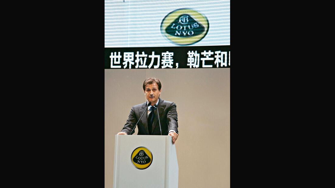 Lotus-CEO, Dany Bahar