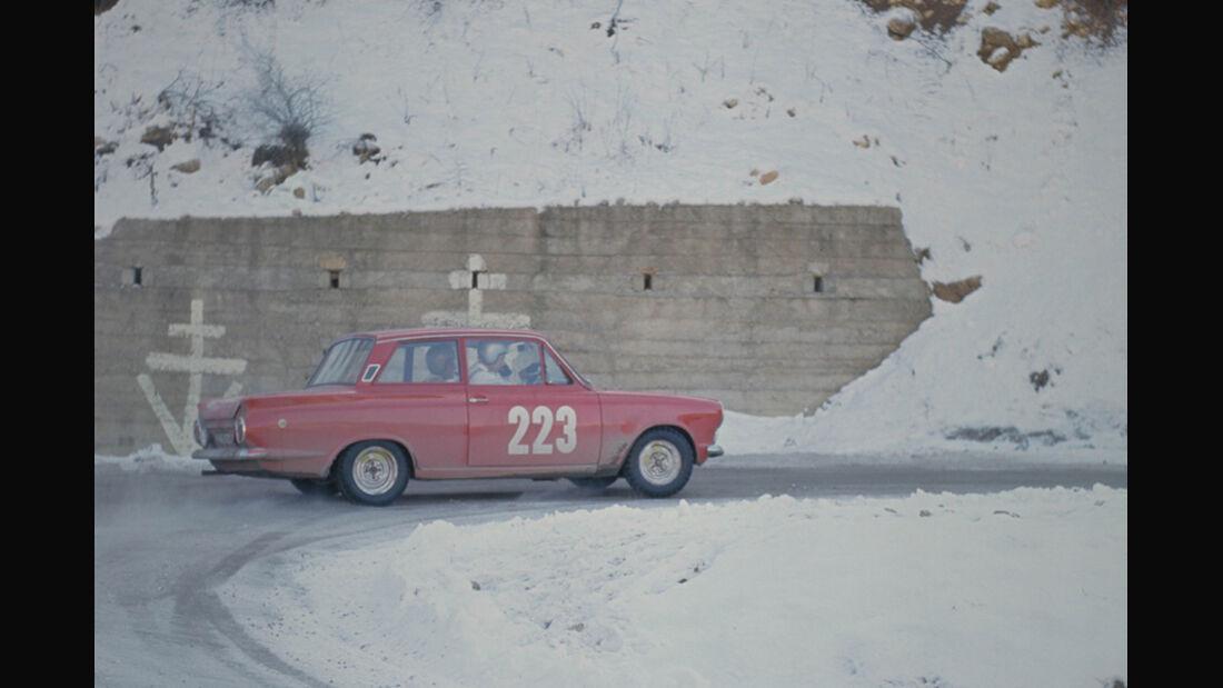 Lotus Cortina - Rallye Monte Carlo