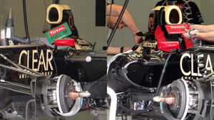 Lotus DRS Airbox GP Ungarn 2012