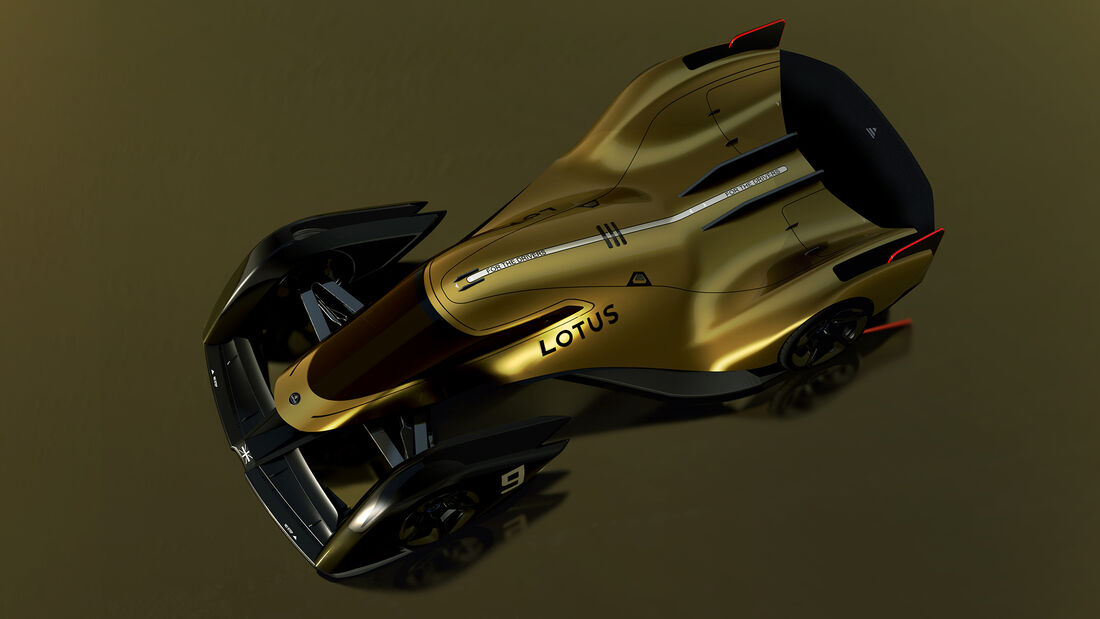 Lotus E-R9 - Rennwagen - Studie