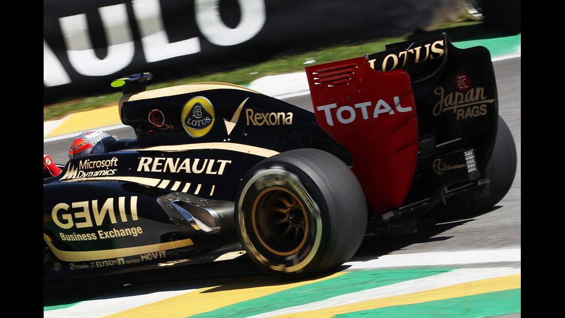 Lotus E20 Sao Paulo 2012