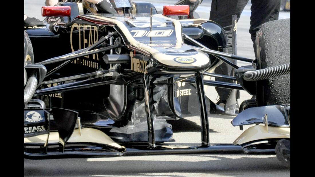 Lotus E20 Test 2012