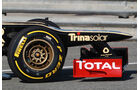 Lotus E20 Test Formel 1 2012