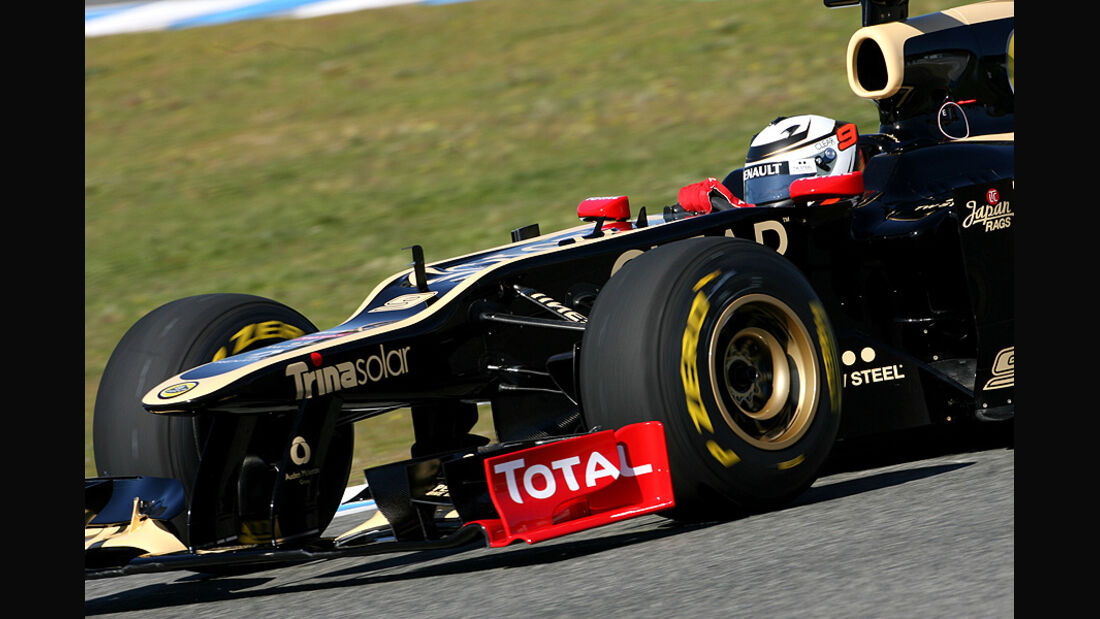 Lotus E20 Test Jerez