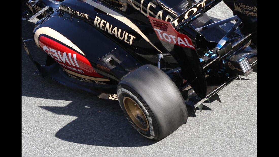 Lotus E21 Auspuff F1 2013