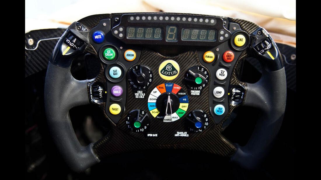 Lotus E21 Formel 1 2013 Lenkrad