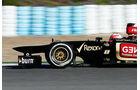 Lotus E21 Nase F1 Jerez 2013