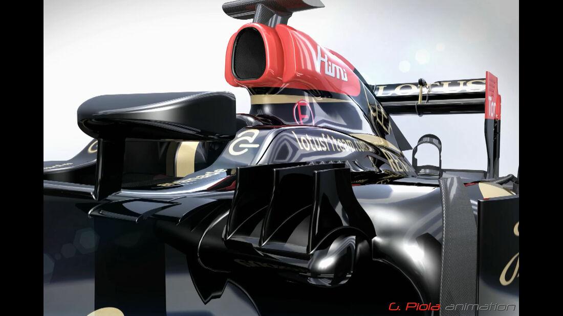 Lotus E21 - Updates 2/2013 - Piola Animation