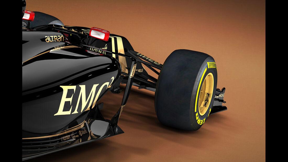 Lotus E23 - Grafik - 2015