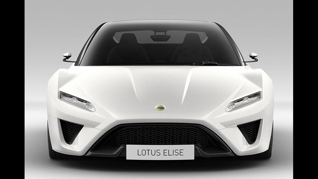 Lotus Elise 2015 Front