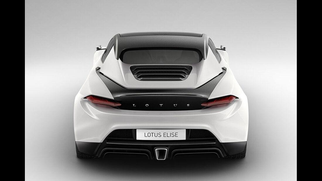 Lotus Elise 2015 Heck