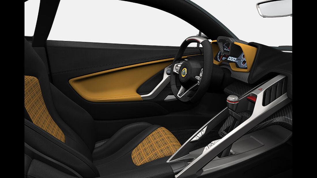Lotus Elise 2015 Interieur