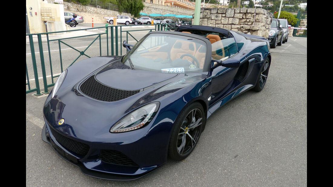 Lotus Elise -  Carspotting - Formel 1 - GP Monaco 2015
