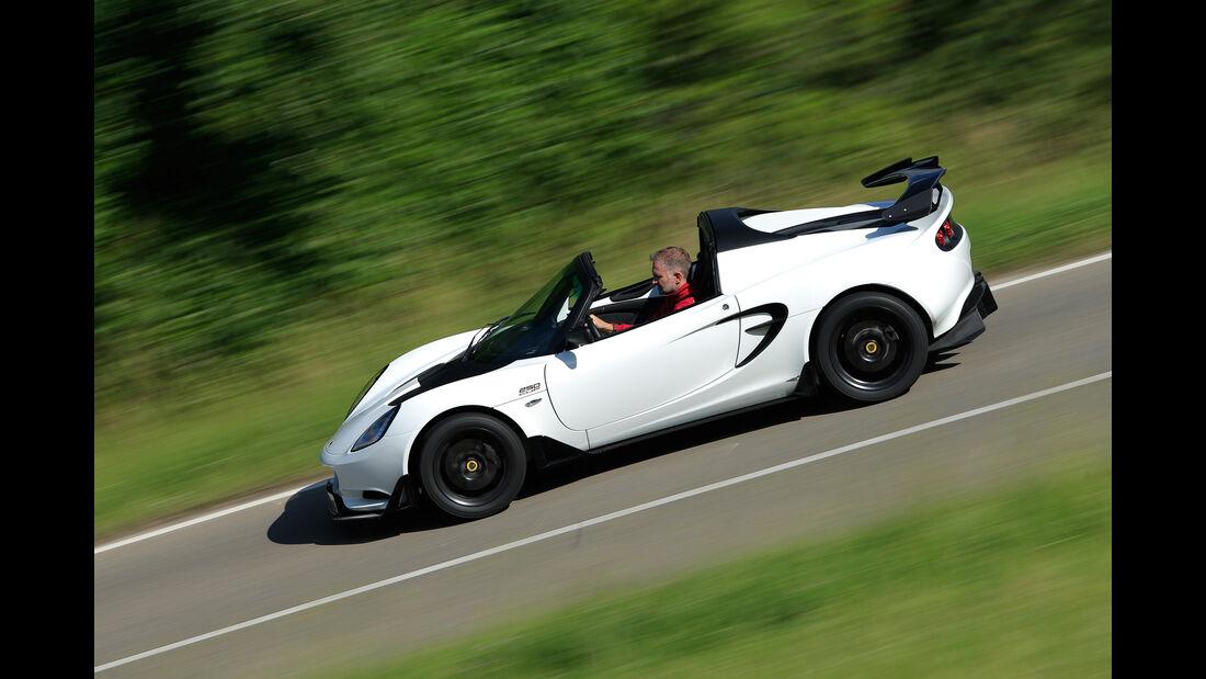 Lotus Elise Cup 250, Seitenansicht