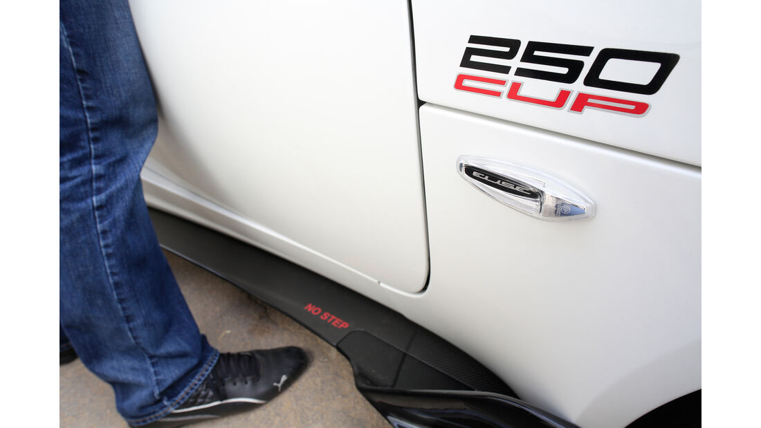 Lotus Elise Cup 250, Typenbezeichnung