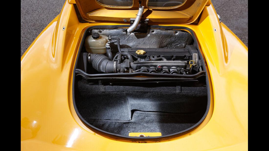 Lotus Elise, Kofferraum
