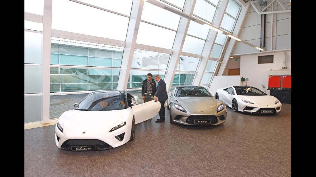 Lotus Elise, Lotus Esprit, Lotus Elite