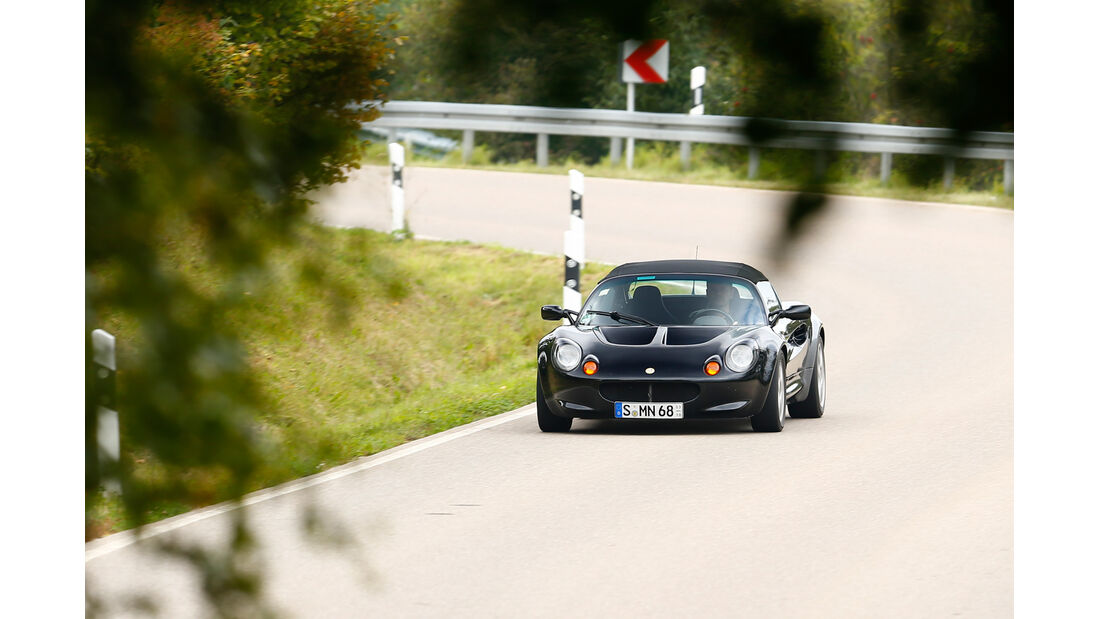 Lotus Elise Mk1, Frontansicht