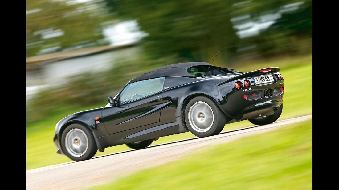 Lotus Elise Mk1, Seitenansicht