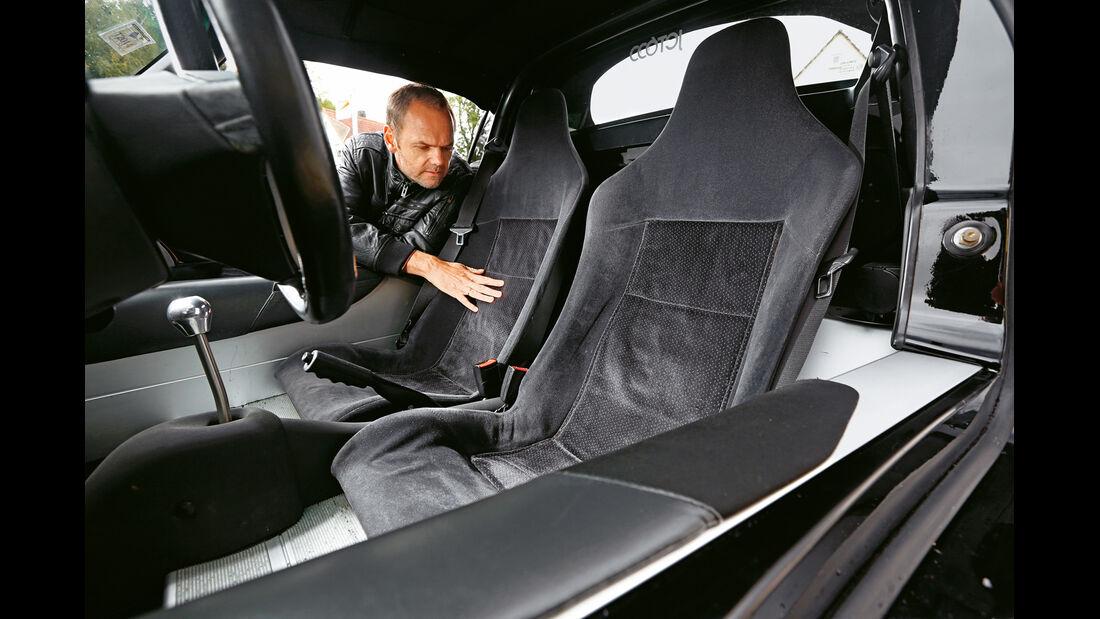 Lotus Elise Mk1, Sitze, Interieur
