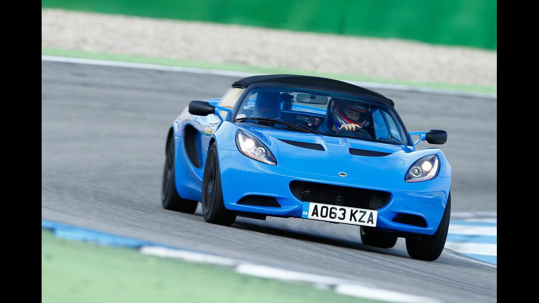 Lotus Elise S CR, Frontansicht