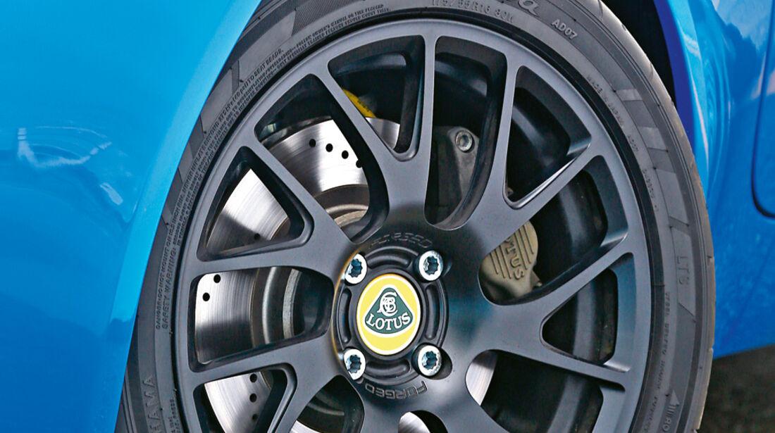 Lotus Elise S CR, Rad, Felge, Bremse