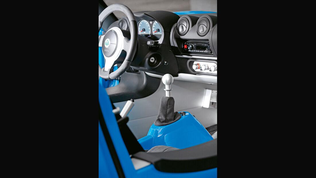 Lotus Elise S Club Racer, Cockpit, Interieur