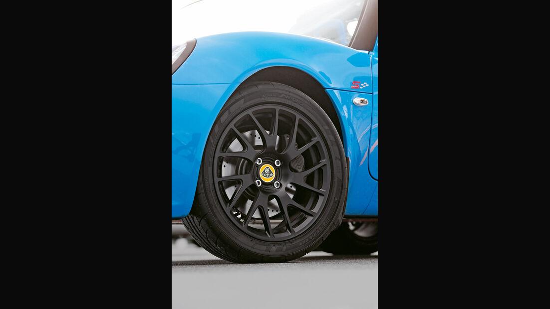 Lotus Elise S Club Racer, Rad, Felge