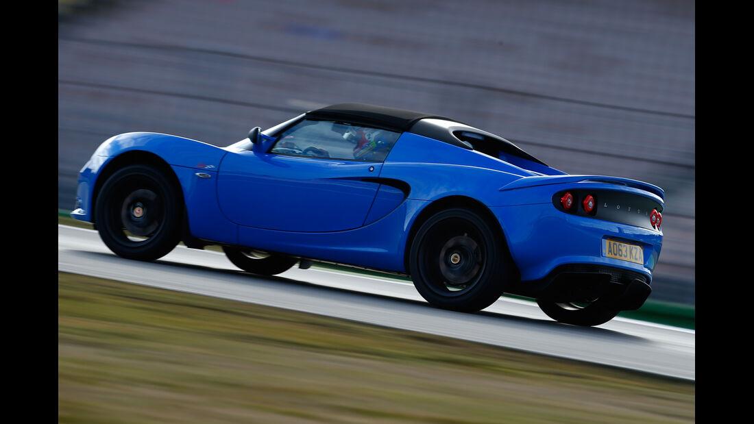 Lotus Elise S Club Racer, Seitenansicht