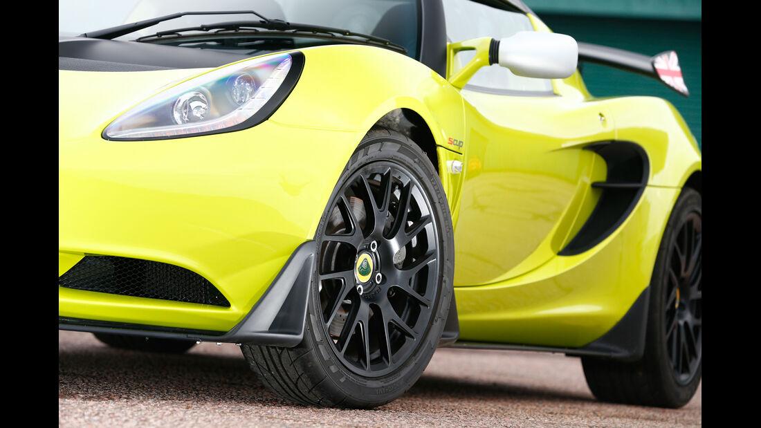 Lotus Elise S Cup, Rad, Felge