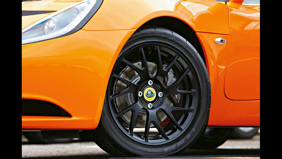 Lotus Elise S, Rad, Felge