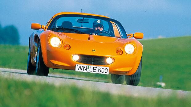 Lotus Elise S2, Baujahr 1996-2000