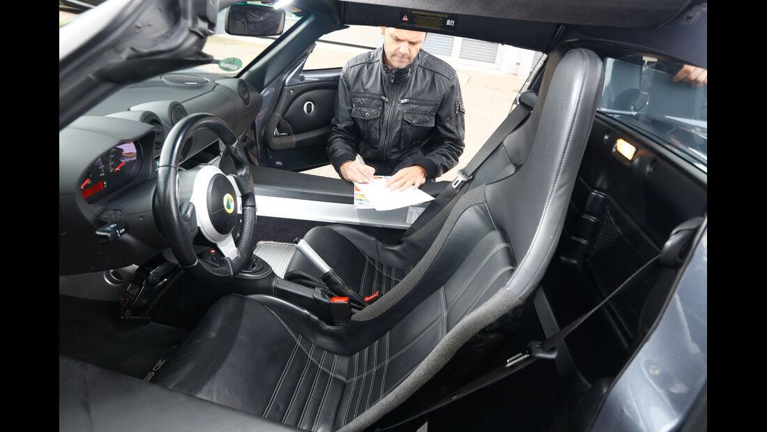 Lotus Elise SC Mk2, Fahrersitz, Interieur