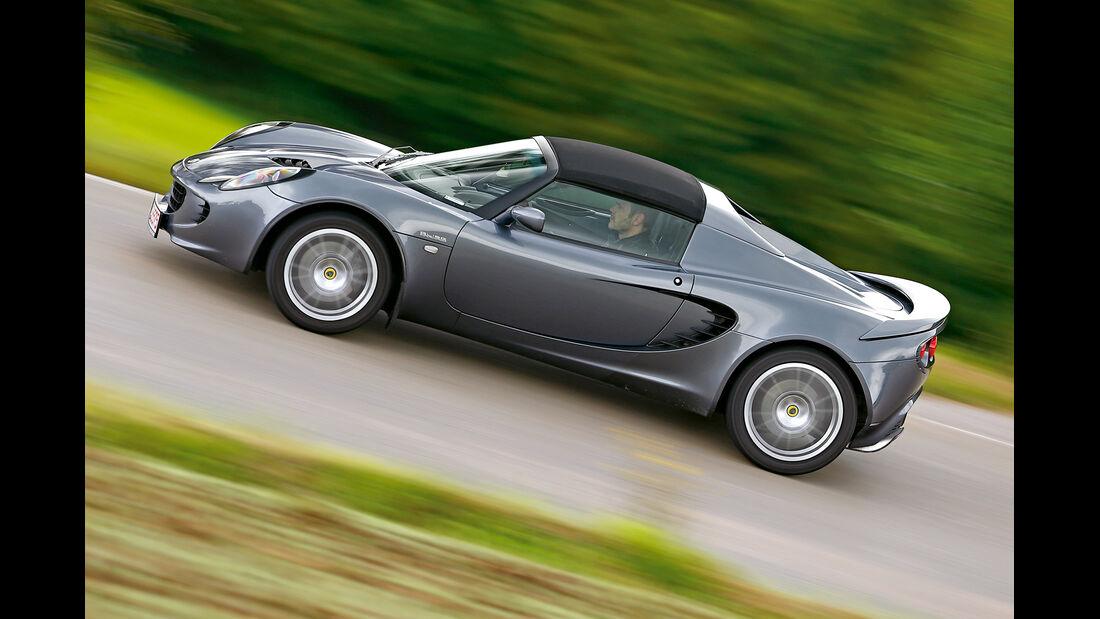 Lotus Elise SC Mk2, Seitenansicht