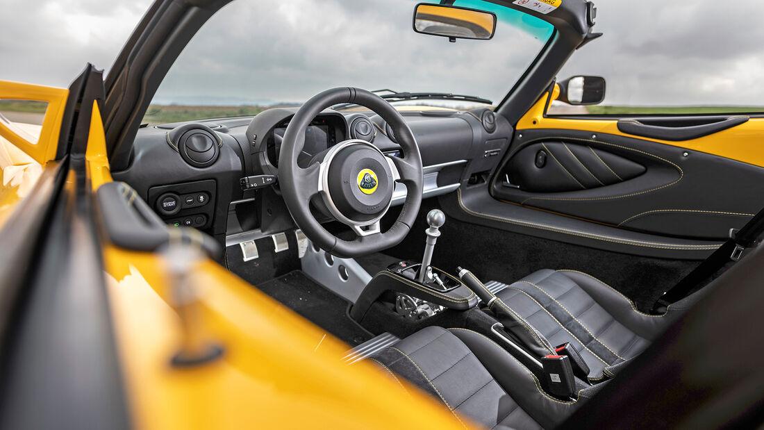 Lotus Elise Sport 240 Final Edition, Interieur
