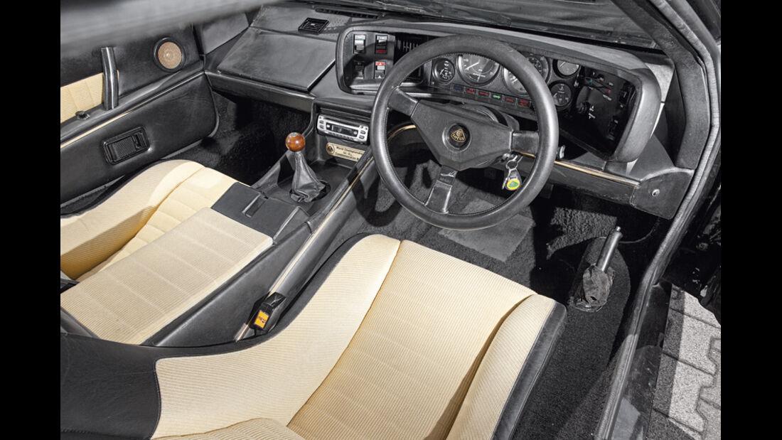 Lotus Esprit, Cockpit