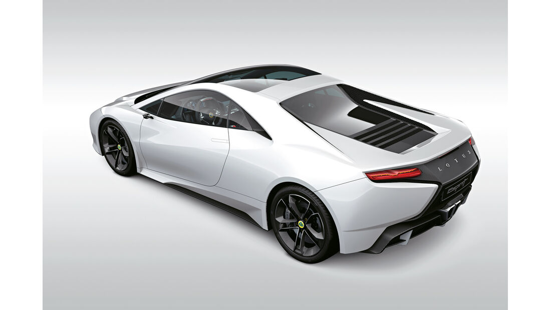Lotus Esprit, Heck