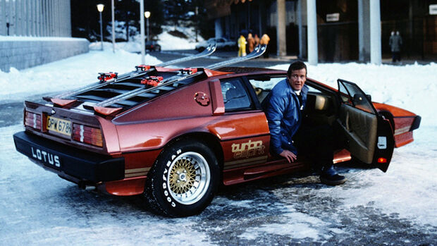 Lotus Esprit James Bond Roger Moore