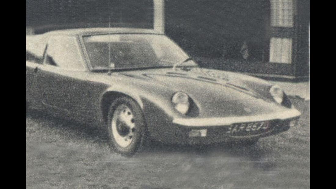 Lotus, Europa, IAA 1967