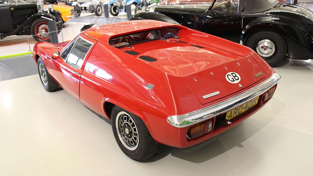 Lotus Europa S2 im British Motor Museum