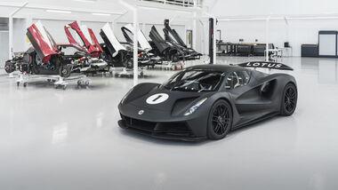 Lotus Evija - Hypercar - Produktion - 04/2021