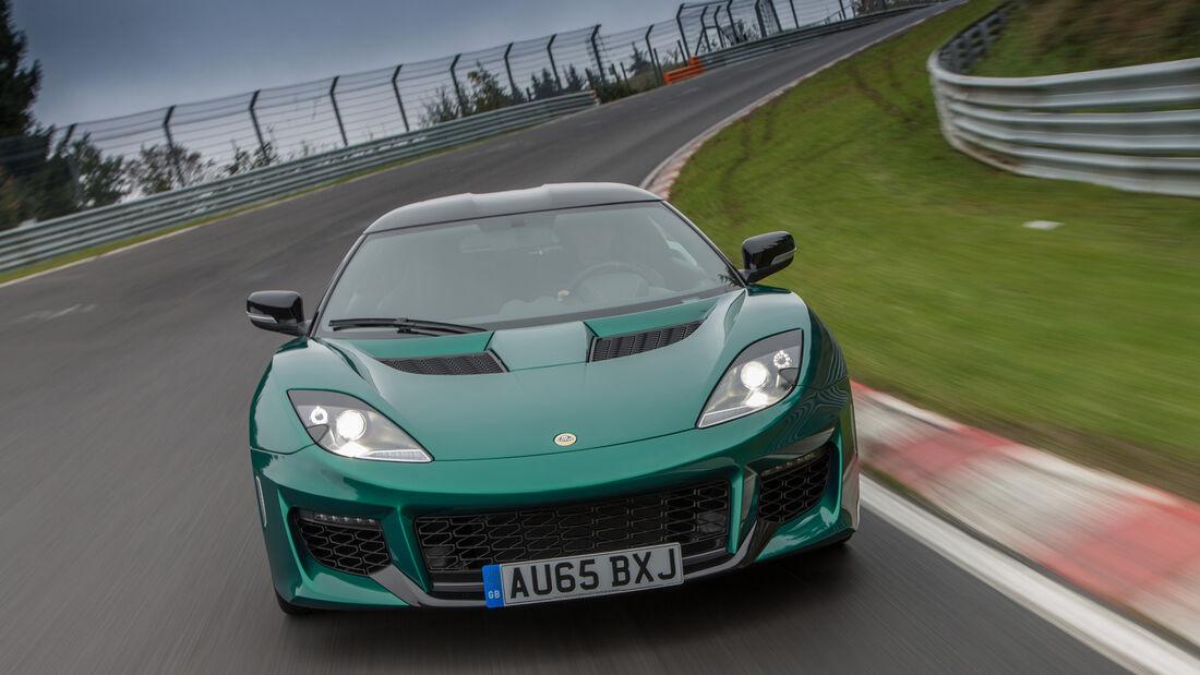 Lotus Evora 400, Frontansicht