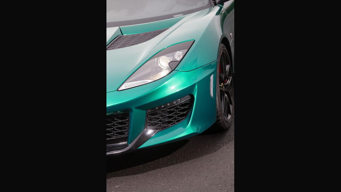 Lotus Evora 400, Frontscheinwerfer