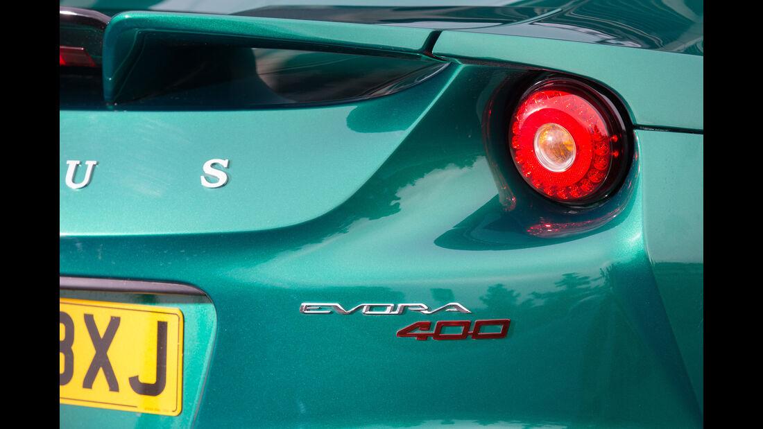 Lotus Evora 400, Heckleuchte