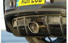 Lotus Evora GTE, Auspuff