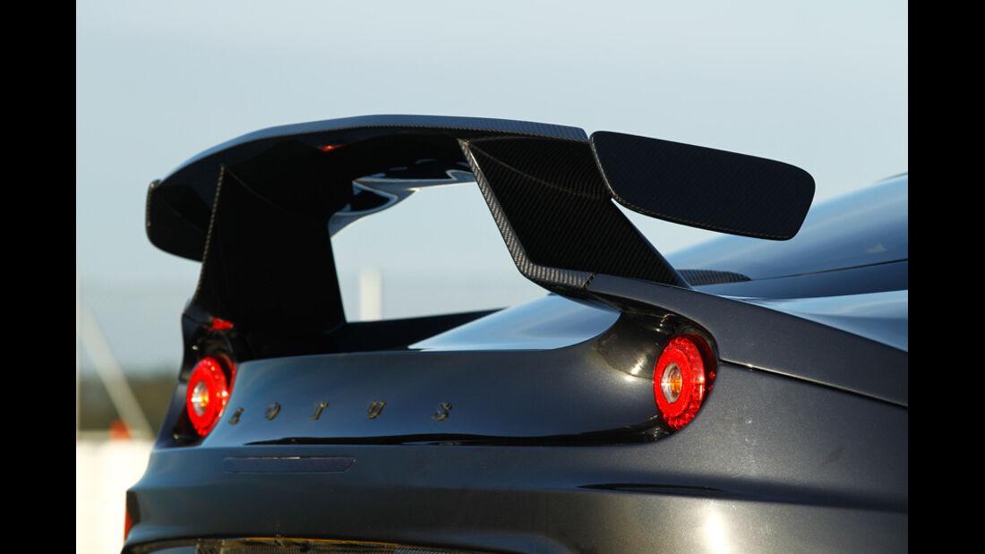 Lotus Evora GTE, Heckflügel