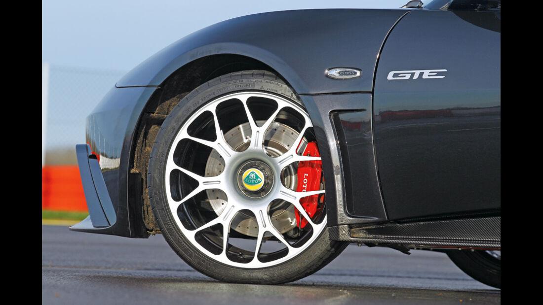 Lotus Evora GTE, Rad, Felge